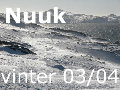 Nuuk winter 2003-4